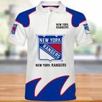 Topsportee New York Rangers Polo Shirt All Over Print S - 5XL