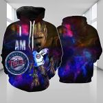 Stocktee Minnesota Twins Limited Edition Over Print Full 3D Hoodie S - 5XL