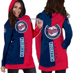Stocktee Minnesota Twins Limited Edition Over Print Full 3D Dress Hoodie