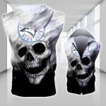 Topsportee Toronto Blue Jays Limited Edition Over Print Full 3D Sleeveless Zipper Hoodie