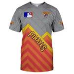 Topsportee Pittsburgh Pirates Limited Edition Over Print Full 3D T-shirt S - 5XL TOP000546