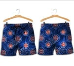 Topsportee Chicago Cubs Leaf and Logo Limited Edition Hawaii Shirt and Shorts Summer Collection size S-5XL NLA003437