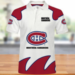 Topsportee Montreal Canadiens Polo Shirt All Over Print S - 5XL