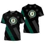 Stocktee Oakland Athletics Limited Edition Over Print Full 3D T-shirt Hoodie S - 5XL TOP000434