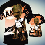Topsportee San Francisco Giants Limited Edition Over Print Full 3D Fleece Hoodie S - 5XL