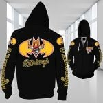 Topsportee Pittsburgh Pirates Limited Edition Over Print Full 3D Zip Hoodie S - 5XL