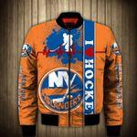 Topsportee New York Islanders Winter Bomber Jacket 3D Full Print
