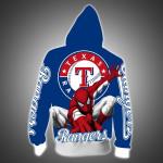 Topsportee Texas Rangers Limited Edition Over Print Full 3D Zip Hoodie S - 5XL