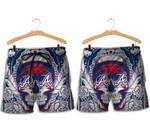Topsportee Atlanta Braves Skull Hawaiian Shirt and Shorts Summer Collection Size S-5XL NLA004934
