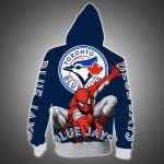 Topsportee Toronto Blue Jays Limited Edition Over Print Full 3D Zip Hoodie S - 5XL
