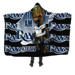 Topsportee Tampa Bay Rays Limited Edition Over Print Full 3D Hooded Blanket