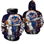 Stocktee New York Mets Limited Edition Over Print Full 3D T-shirt Zip Hoodie S - 5XL TOP000301