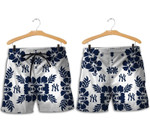 Topsportee New York Yankees Hibiscus Flower Limited Edition Hawaii Shirt and Shorts Summer Collection Size S-5XL NLA002651