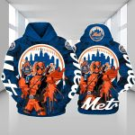 Stocktee New York Mets Limited Edition Over Print Full 3D Hoodie S - 5XL TOP000424