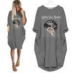 Topsportee Chicago White Sox Haters Shut Up Loose Casual Batwing Dress 6 Colors Size S-5XL PTL000138