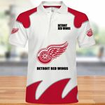Topsportee Detroit Red Wings Polo Shirt All Over Print S - 5XL