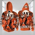 Topsportee San Francisco Giants Limited Edition Over Print Full 3D Zip Hoodie S - 5XL TOP000368