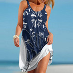 Topsportee New York Yankees Flowers Limited Edition Summer Beach Dress NLA002351