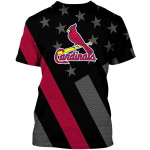 Topsportee St. Louis Cardinals Limited Edition Over Print Full 3D Hoodie T-shirt S - 5XL