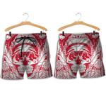 Topsportee Boston Red Sox Skull Hawaiian Shirt and Shorts Summer Collection Size S-5XL NLA004936