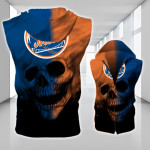 Stocktee New York Mets Limited Edition Over Print Full 3D Sleeveless Zipper Hoodie