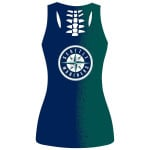 Topsportee Seattle Mariners Limited Edition Over Print Full 3D Tank Top S - 5XL