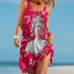 Topsportee Arizona Diamondbacks Medusa Limited Edition Summer Beach Dress NLA001833