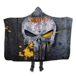 Topsportee Pittsburgh Pirates Limited Edition Over Print Full 3D Hooded Blanket TOP000478