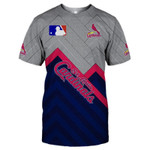 Topsportee St. Louis Cardinals Limited Edition Over Print Full 3D T-shirt S - 5XL TOP000411