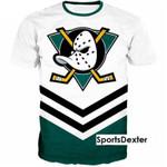 Topsportee Anaheim Ducks 3d T-shirt All Over Print S - 5XL