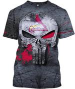 Topsportee St. Louis Cardinals Limited Edition Over Print Full 3D T-shirt Zip Hoodie S - 5XL TOP000481