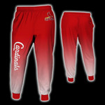 Topsportee St. Louis Cardinals Limited Edition Over Print Full 3D Sweatpants Zip Hoodie S - 5XL