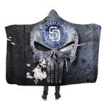 Topsportee San Diego Padres Limited Edition Over Print Full 3D Hooded Blanket