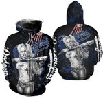 Stocktee Los Angeles Dodgers Limited Edition Over Print Full 3D T-shirt Zip Hoodie S - 5XL TOP000570