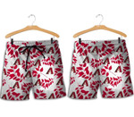 Topsportee Arizona Diamondbacks Leaves Hawaiian Shirt and Shorts Summer Collection Size S-5XL NLA004033