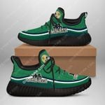 Topsportee NCAA NOTRE DAME FIGHTING IRISH Limited Edition Men's and Women's Black Sole and Shoelace Reze Sneakers All US Size TOP000381