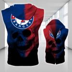 Topsportee Texas Rangers Limited Edition Over Print Full 3D Sleeveless Zipper Hoodie