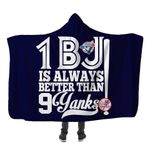 Topsportee Toronto Blue Jays Limited Edition Over Print Full 3D Hooded Blanket TOP000625