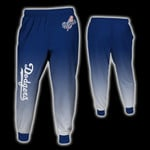 Stocktee Los Angeles Dodgers Limited Edition Over Print Full 3D Sweatpants Zip Hoodie S - 5XL