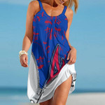 Topsportee Atlanta Braves Medusa Limited Edition Summer Beach Dress NLA002334