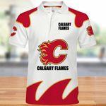 Topsportee Calgary Flames Polo Shirt All Over Print S - 5XL
