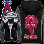Stocktee Los Angeles Angels Limited Edition Over Print Full 3D Fleece Hoodie S - 5XL