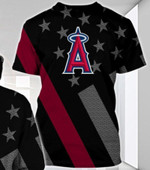 Stocktee Los Angeles Angels Limited Edition Over Print Full 3D T-shirt Hoodie S - 5XL TOP000472