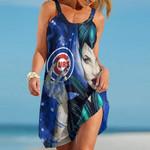 Topsportee Boston Chicago Cubs Limited Edition Summer Beach Dress NLA001737