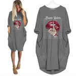 Topsportee Atlanta Braves Haters Shut Up Loose Casual Batwing Dress 6 Colors Size S-5XL PTL000134