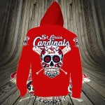 Topsportee St. Louis Cardinals Limited Edition Over Print Full 3D Zip Hoodie S - 5XL