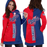Stocktee Los Angeles Dodgers Limited Edition Over Print Full 3D Dress Hoodie