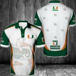 NCAA Miami Hurricanes Football Polo Unisex Size 3D All Over Printed - PLUSA21