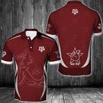 NCAA Texas A&M Aggies Polo Unisex Size 3D All Over Printed - PLUSA28
