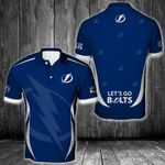 NHL Tampa Bay Lightning Polo Unisex Size 3D All Over Printed - PLUSA63